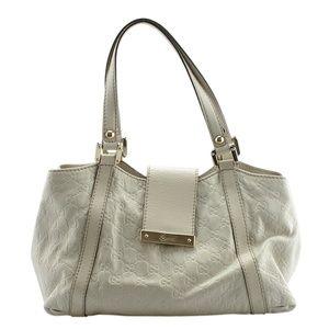 Gucci Ladies Guccissima Leather Satchel(143445)
